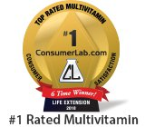 best vitamin rated number 1